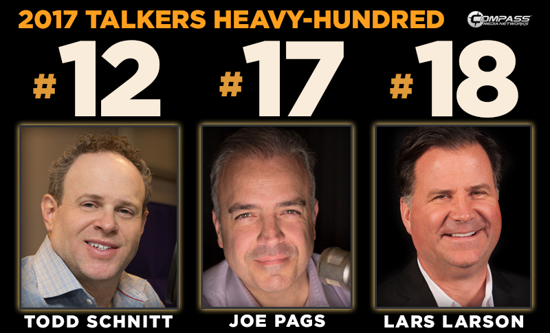 "Three Compass Media Networks affiliated talk shows make TOP 20 in ""HEAVY HUNDRED"""